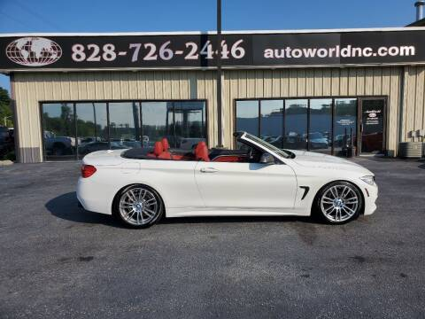 2015 BMW 4 Series for sale at AutoWorld of Lenoir in Lenoir NC