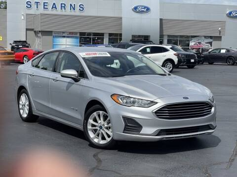 2019 Ford Fusion Hybrid for sale at Stearns Ford in Burlington NC