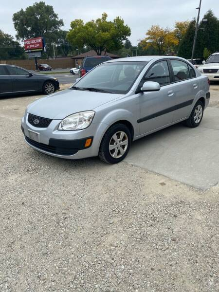 2008 Kia Rio for sale at Downers Grove Motor Sales in Downers Grove IL