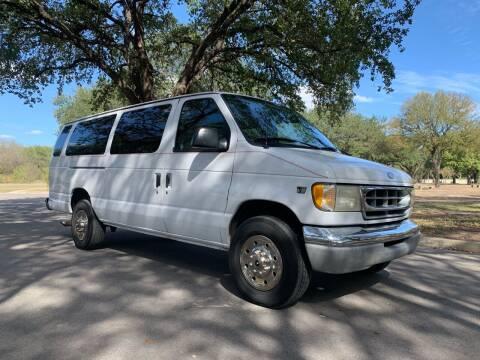 2000 Ford E-350 for sale at 210 Auto Center in San Antonio TX