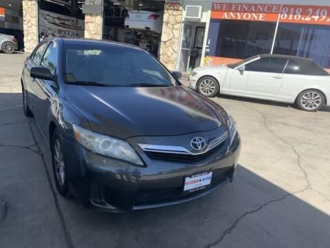 2010 Toyota Camry Hybrid for sale at CAR CITY SALES in La Crescenta CA