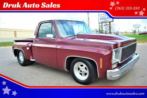 1977 Chevrolet C/K 10 Series for sale at Druk Auto Sales in Ramsey MN