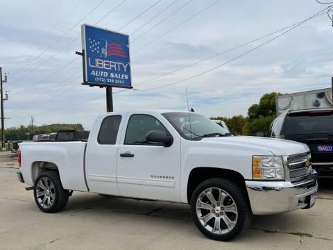 2012 Chevrolet Silverado 1500 for sale at Liberty Auto Sales in Merrill IA