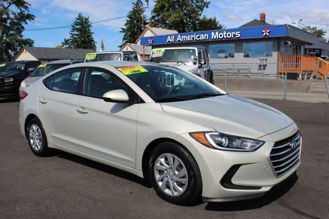 2017 Hyundai Elantra for sale at All American Motors in Tacoma WA