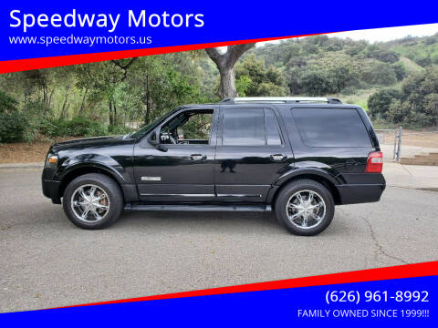 2007 Ford Expedition for sale at Speedway Motors in Glendora CA