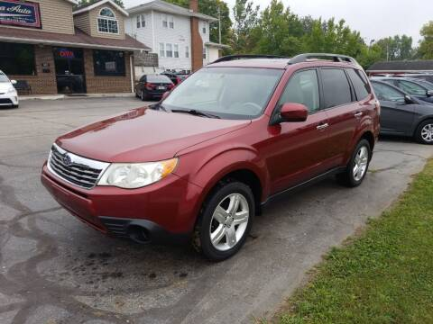 2010 Subaru Forester for sale at Indiana Auto Sales Inc in Bloomington IN