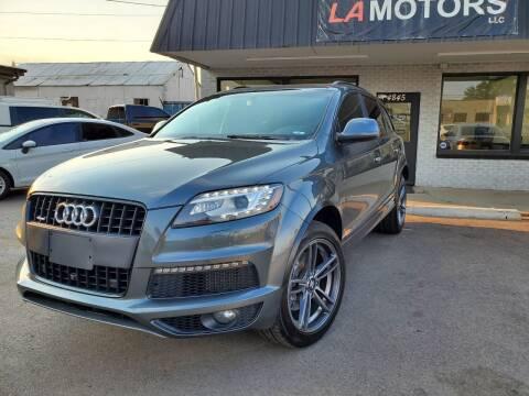 2014 Audi Q7 for sale at LA Motors LLC in Denver CO