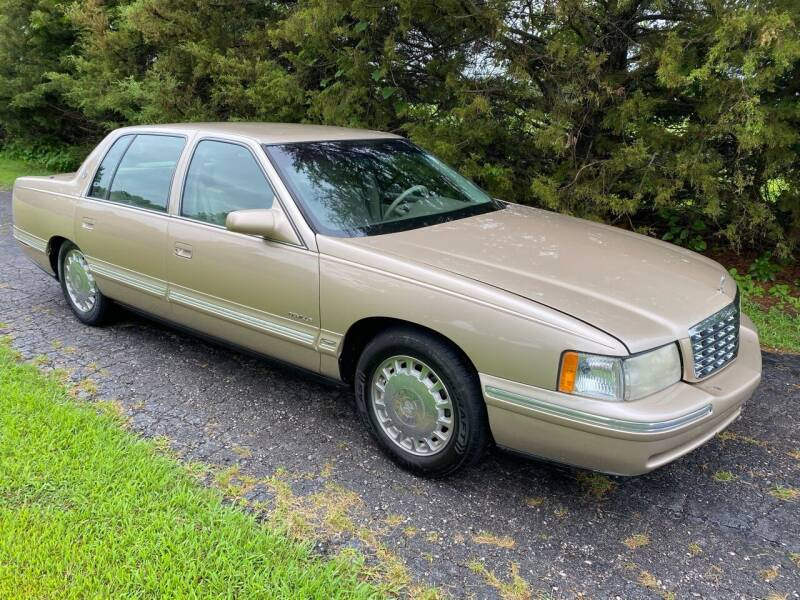 1997 Cadillac DeVille for sale at Kansas Car Finder in Valley Falls KS