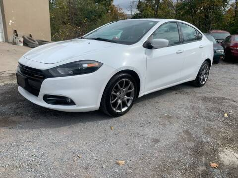 2014 Dodge Dart for sale at GET N GO USED AUTO & REPAIR LLC in Martinsburg WV