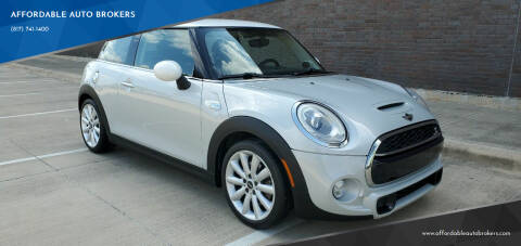 2014 MINI Hardtop for sale at AFFORDABLE AUTO BROKERS in Keller TX