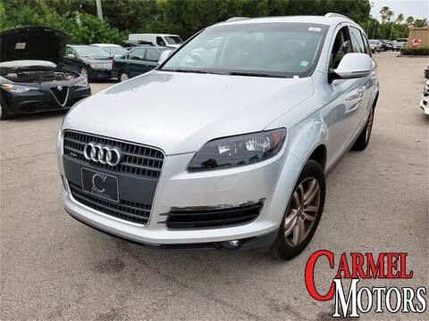2009 Audi Q7 for sale at Carmel Motors in Indianapolis IN