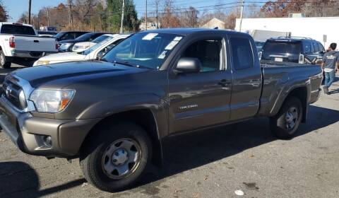 2014 Toyota Tacoma for sale at Top Line Import of Methuen in Methuen MA