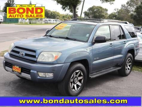 2004 Toyota 4Runner for sale at Bond Auto Sales in St Petersburg FL