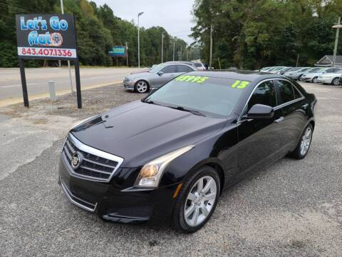 2013 Cadillac ATS for sale at Let's Go Auto in Florence SC