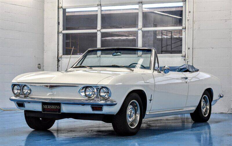 1967 Chevrolet Corvair for sale at Mershon's World Of Cars Inc in Springfield OH