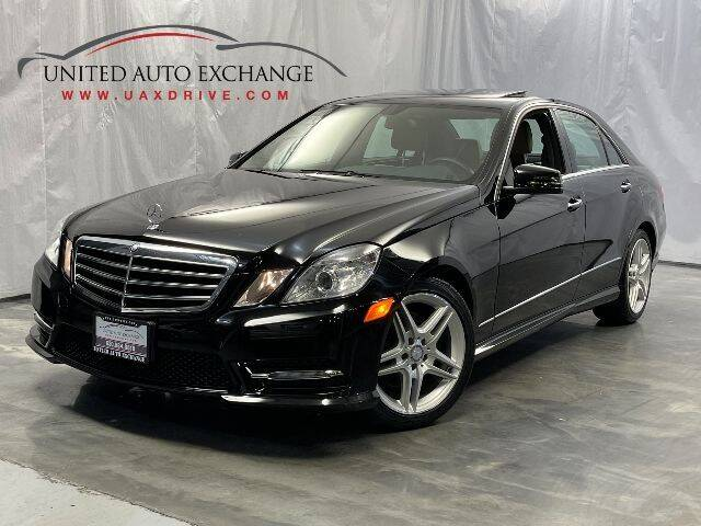 2013 Mercedes-Benz E-Class for sale at United Auto Exchange in Addison IL
