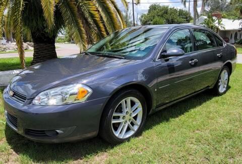 "2008 Chevrolet Impala for sale at WHEELS ""R"" US 2017 LLC in Hudson FL"