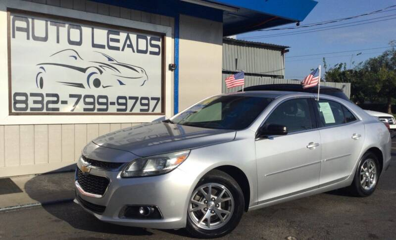 2014 Chevrolet Malibu for sale at AUTO LEADS in Pasadena TX