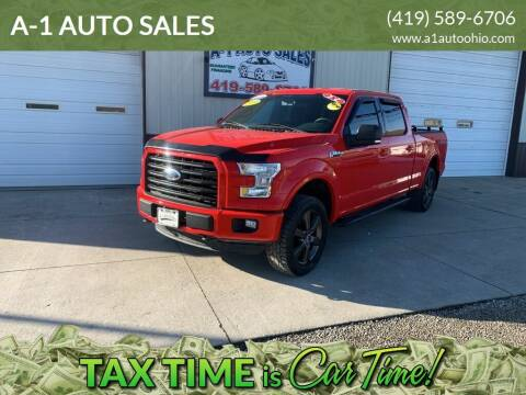 2016 Ford F-150 for sale at A-1 AUTO SALES in Mansfield OH