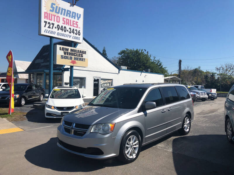 2013 Dodge Grand Caravan for sale at Sunray Auto Sales Inc. in Holiday FL