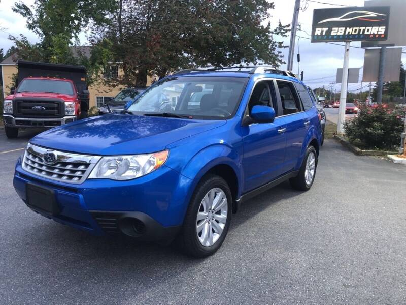 2013 Subaru Forester for sale at RT28 Motors in North Reading MA