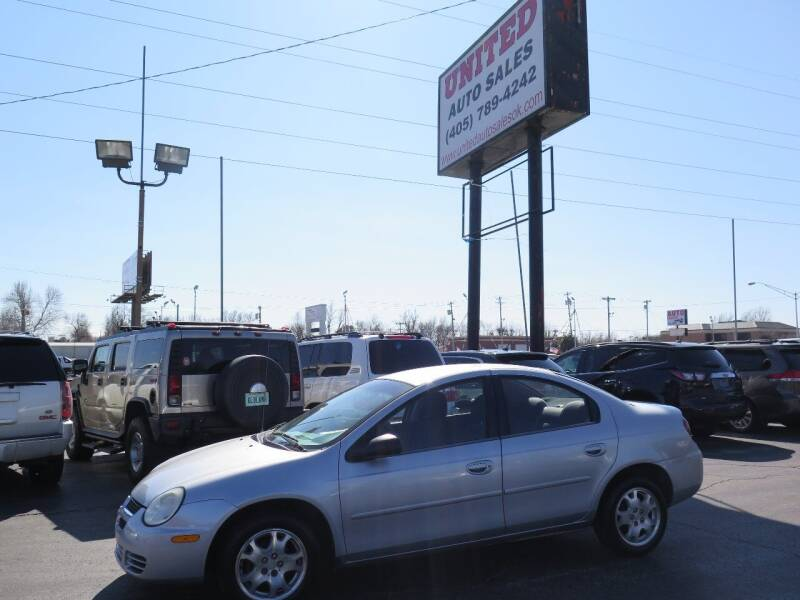 2005 Dodge Neon for sale at United Auto Sales in Oklahoma City OK