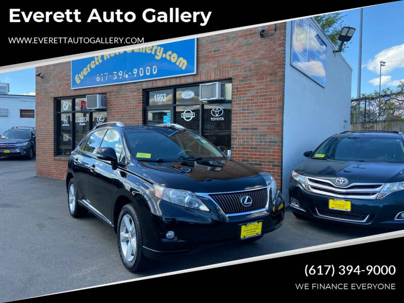 2010 Lexus RX 350 for sale at Everett Auto Gallery in Everett MA