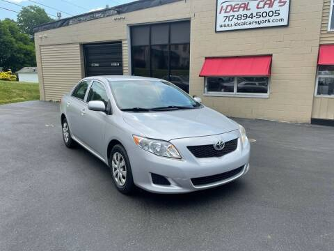 2009 Toyota Corolla for sale at I-Deal Cars LLC in York PA