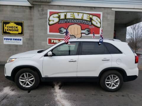 2015 Kia Sorento for sale at Steve's Automotive Inc. in Niagara Falls NY