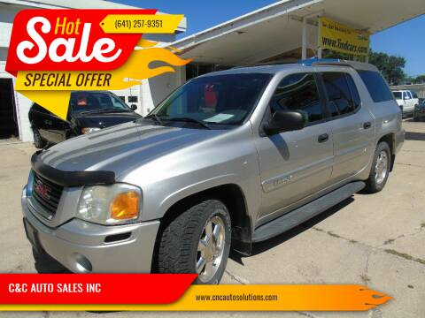 2004 GMC Envoy XUV for sale at C&C AUTO SALES INC in Charles City IA