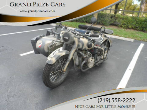 1941 BMW R71 for sale at Grand Prize Cars in Cedar Lake IN