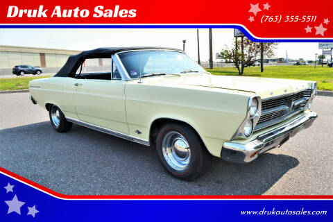 1966 Ford Fairlane 500 for sale at Druk Auto Sales in Ramsey MN