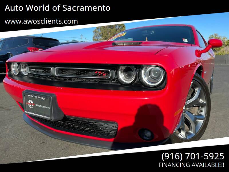 2016 Dodge Challenger for sale at Auto World of Sacramento Stockton Blvd in Sacramento CA