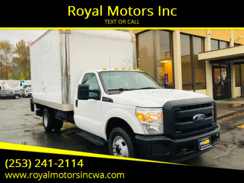 2015 Ford F-350 Super Duty for sale at Royal Motors Inc in Kent WA