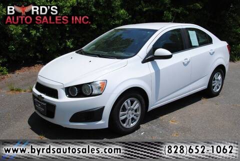 2012 Chevrolet Sonic for sale at Byrds Auto Sales in Marion NC