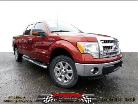 2014 Ford F-150 for sale at PRIME MOTORS LLC in Arlington VA