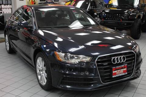 2015 Audi A6 for sale at Windy City Motors in Chicago IL