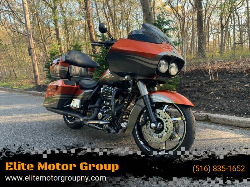 2013 Harley-Davidson CVO Road Glide Screaming Eagle for sale at Elite Motor Group in Farmingdale NY