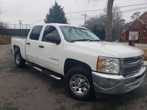 2013 Chevrolet Silverado 1500 for sale at McAdenville Motors in Gastonia NC