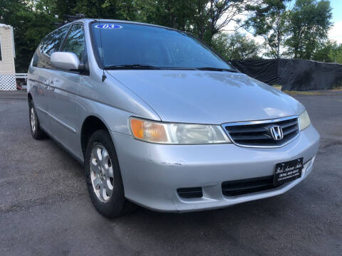 2003 Honda Odyssey for sale at PARK AVENUE AUTOS in Collingswood NJ