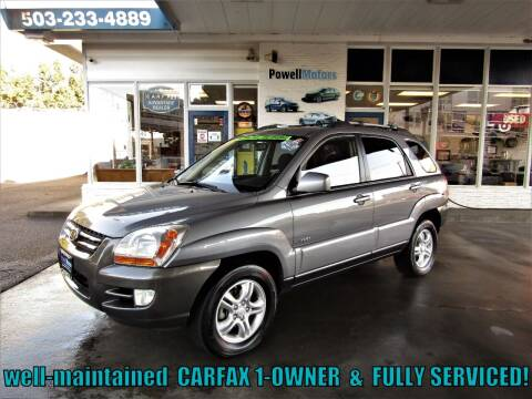 2007 Kia Sportage for sale at Powell Motors Inc in Portland OR