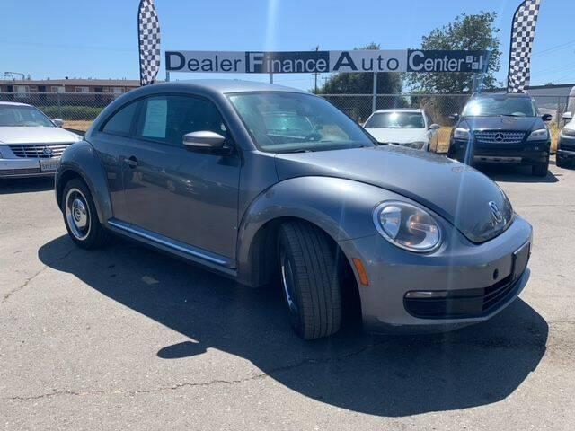 2012 Volkswagen Beetle for sale at Dealer Finance Auto Center LLC in Sacramento CA