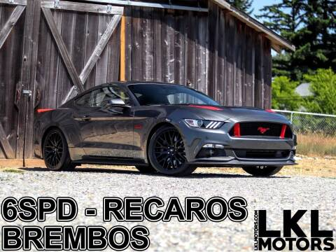 2017 Ford Mustang for sale at LKL Motors in Puyallup WA