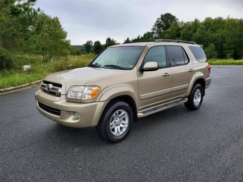 2006 Toyota Sequoia for sale at Apex Autos Inc. in Fredericksburg VA