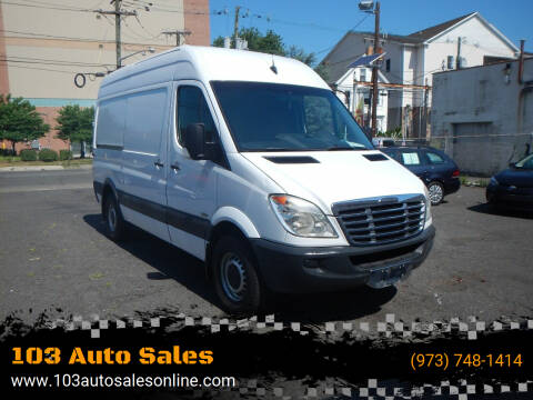 2010 Freightliner Sprinter Cargo for sale at 103 Auto Sales in Bloomfield NJ