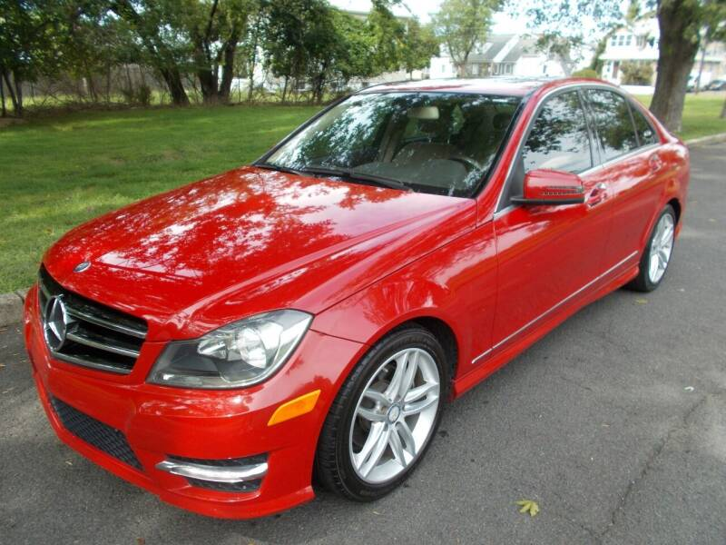 2014 Mercedes-Benz C-Class for sale at Mercury Auto Sales in Woodland Park NJ