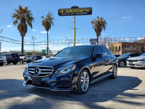 2014 Mercedes-Benz E-Class for sale at A MOTORS SALES AND FINANCE in San Antonio TX
