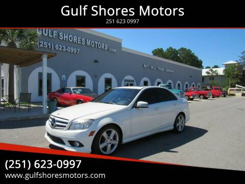 2010 Mercedes-Benz C-Class for sale at Gulf Shores Motors in Gulf Shores AL