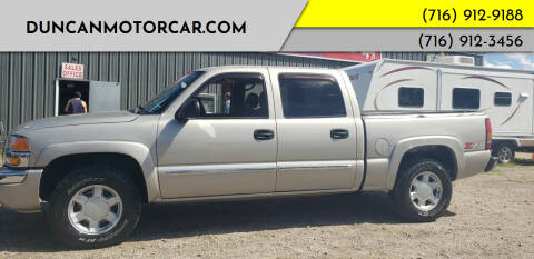 2005 GMC Sierra 1500 for sale at DuncanMotorcar.com in Buffalo NY