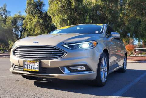 2017 Ford Fusion for sale at ALL CREDIT AUTO SALES in San Jose CA